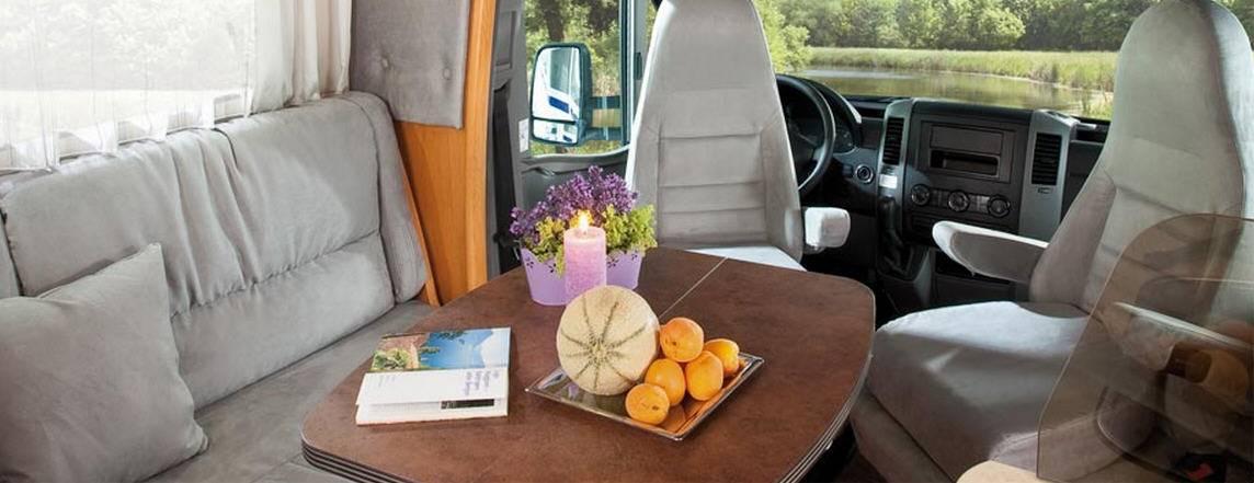 Frankia FIAT DUCATO T 840 - Interior
