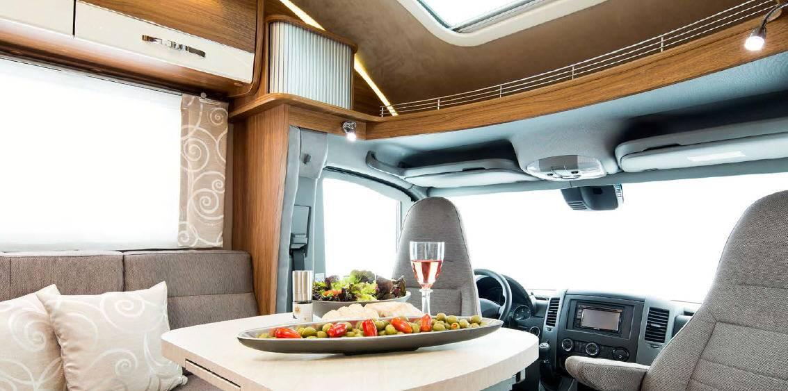Frankia Mercedes Srpinter T 7400 GD/QD/FD - Interior