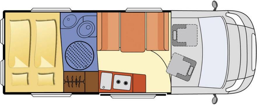 Globecar D-Line FAMILYSCOUT MAXI - Plano - Distribución