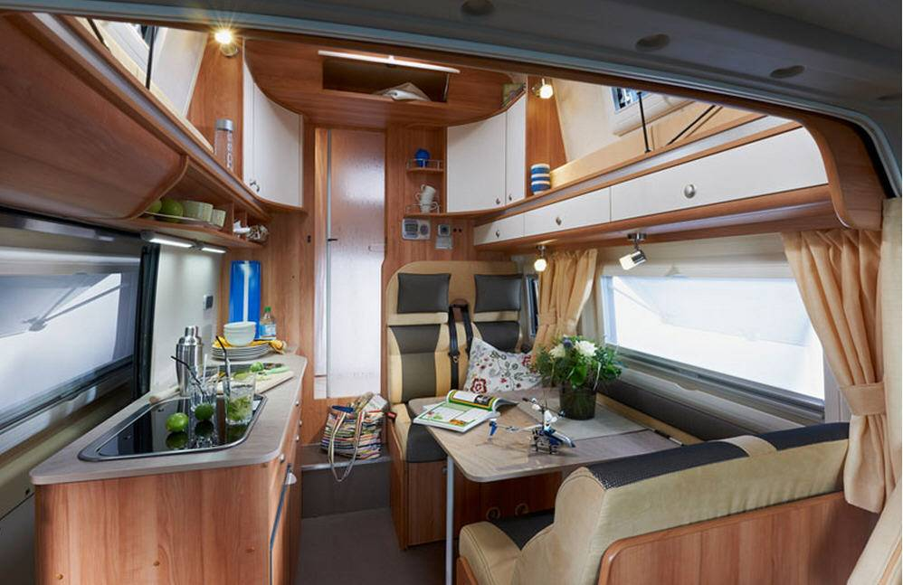 Globecar H-Line CONCORDE COMPACT - Interior