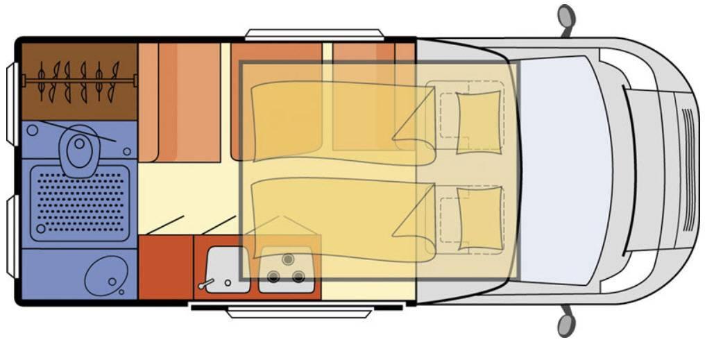 Globecar H-Line CONCORDE COMPACT - Plano - Distribución
