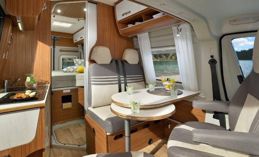 Globecar D-LINE Campscout Revolution (Maxi) - Interior