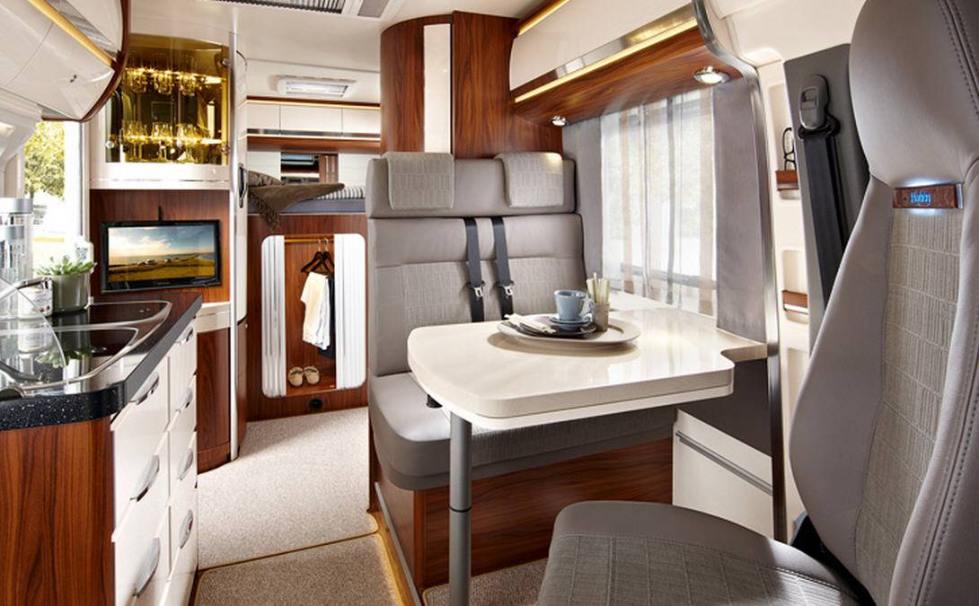Hobby Premium Van 55 GF - Interior