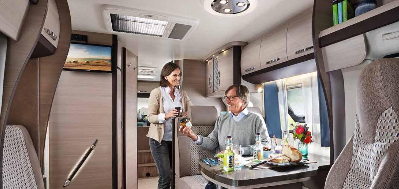 Hobby Optima T 70 GE Luxe - Interior