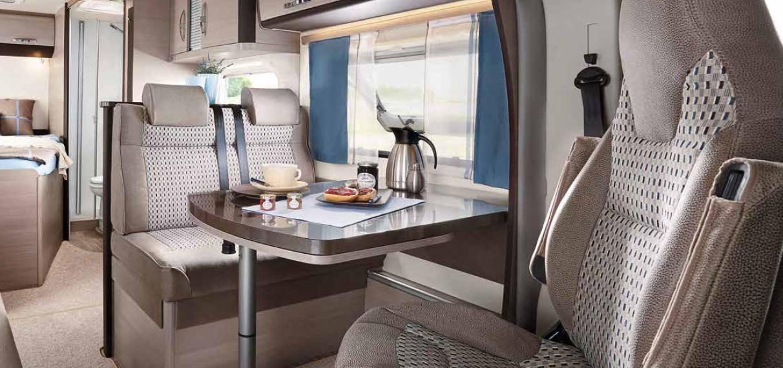Hobby Optima T 65 HFL Luxe - Interior