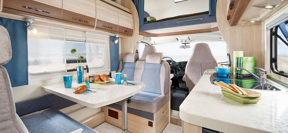 Hobby Siesta A 65 GM Luxe - Interior