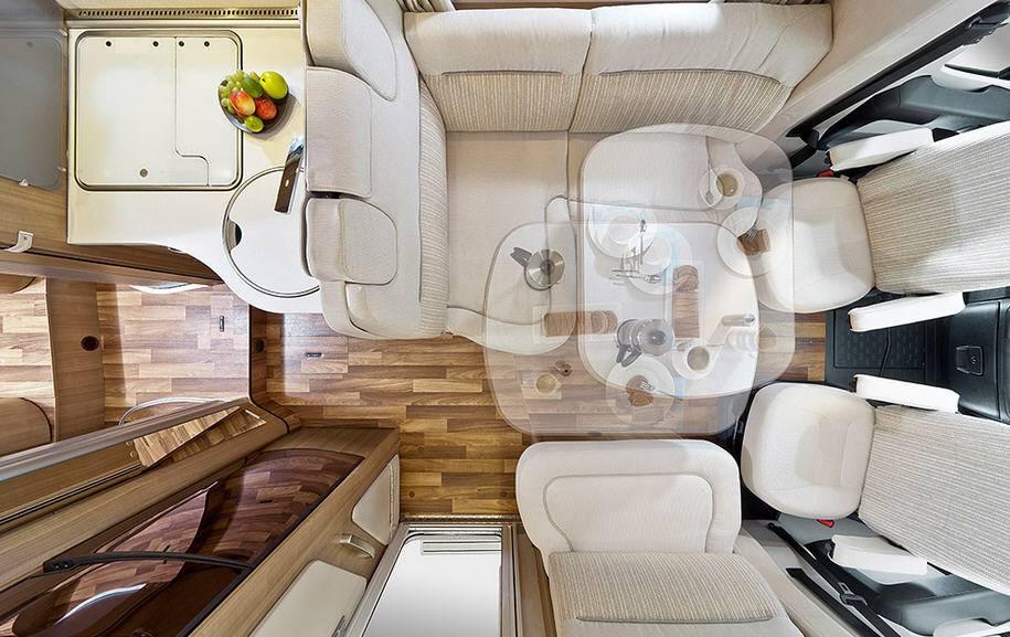 Hymer Tramp CL T 554 CL ALKO - Interior