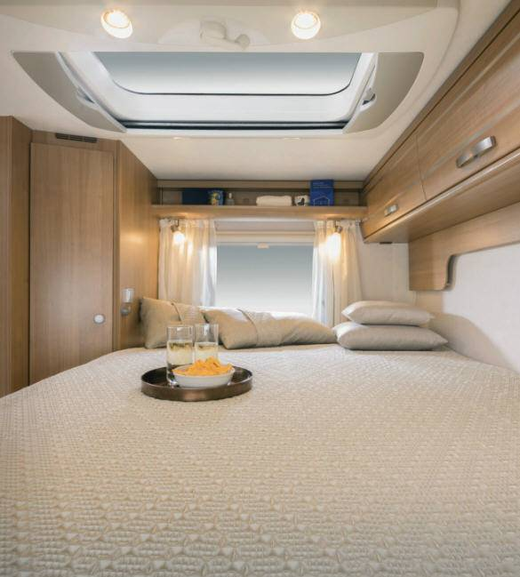 Hymer Tramp CL T 598 CL ALKO - Interior