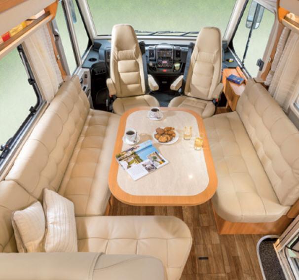 Hymer B - SL 624 SL - Interior