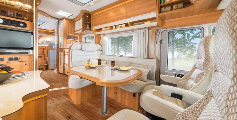 Hymer B - SL 674 SL - Interior