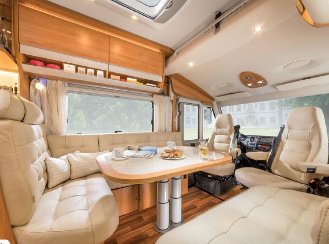 Hymer B - SL 898 SL - Interior
