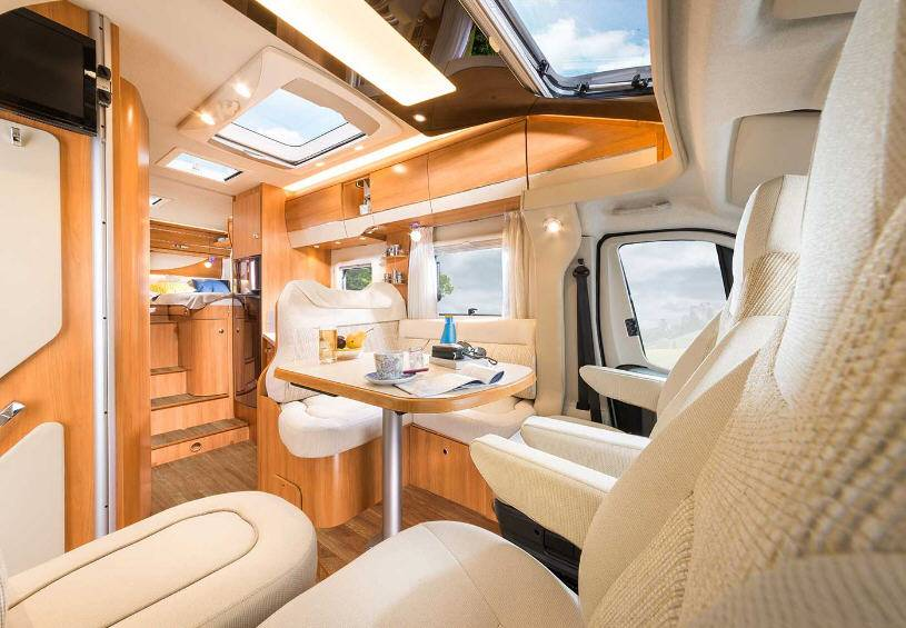 Hymer Tramp CL 554 - Interior