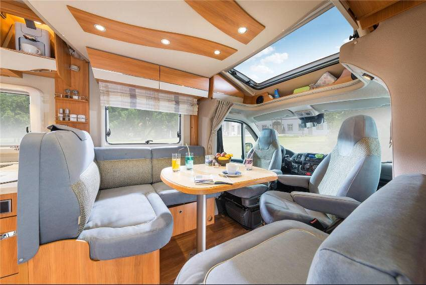 Hymer Tramp CL 678 - Interior