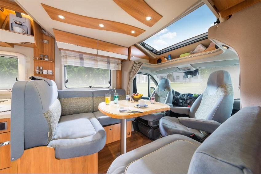 Hymer Tramp CL 678 - Interior
