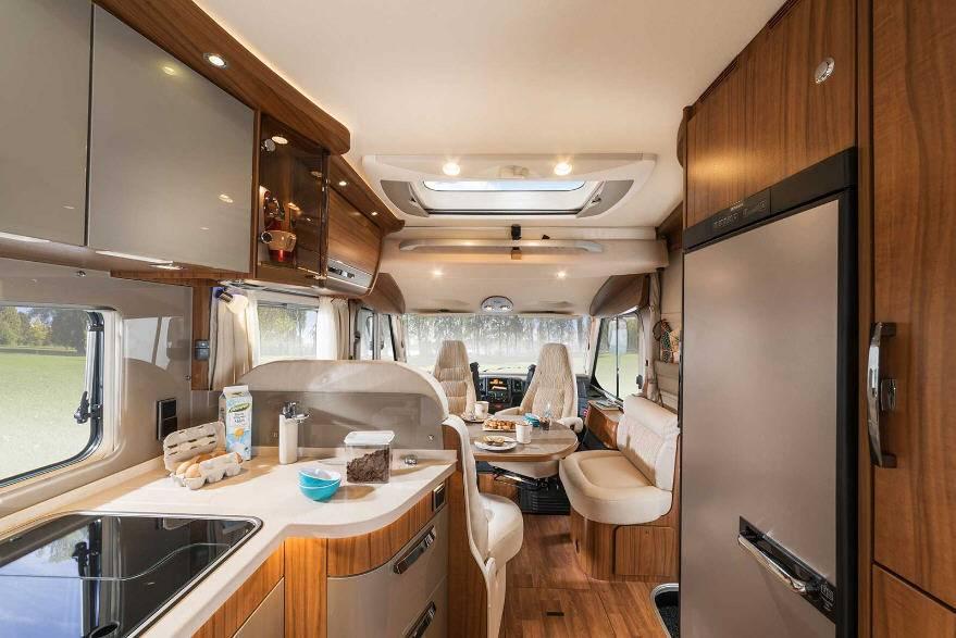 Hymer B Premium Line B594PL - Interior