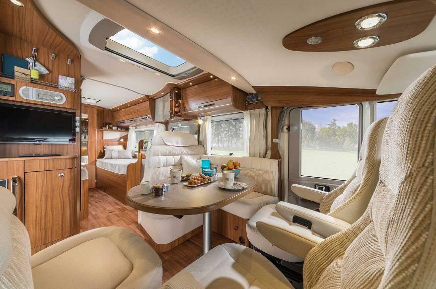 Hymer B Premium Line B668PL - Interior