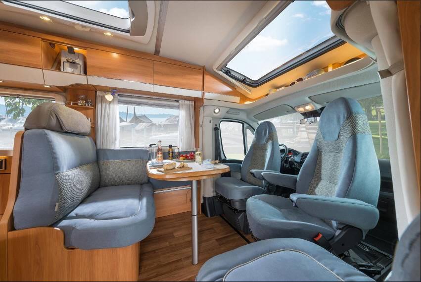 Hymer Tramp SL T554SL - Interior