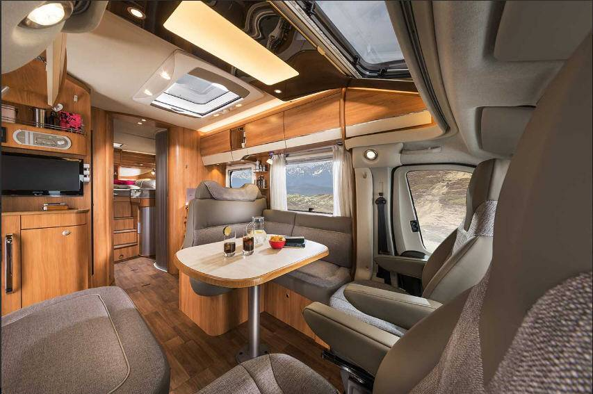 Hymer Tramp SL T668 - Interior