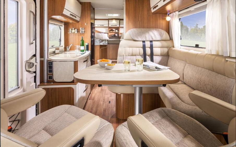 Hymer Exis T T 598 - Interior