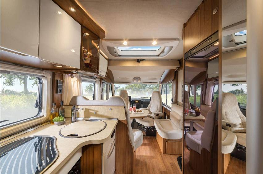 Hymer ML-i ML 560 i - Interior