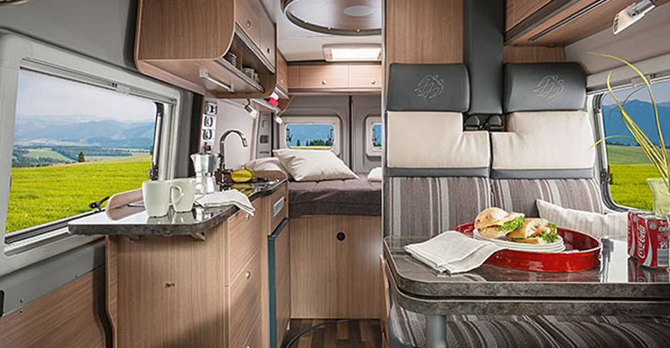 Knaus Box Star Street 600 - Interior