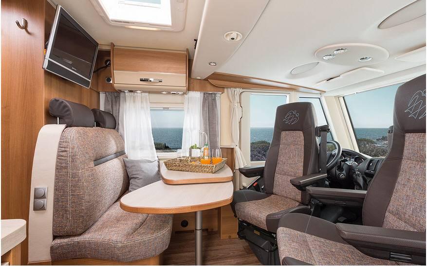 Knaus Van I 550 MK - Interior