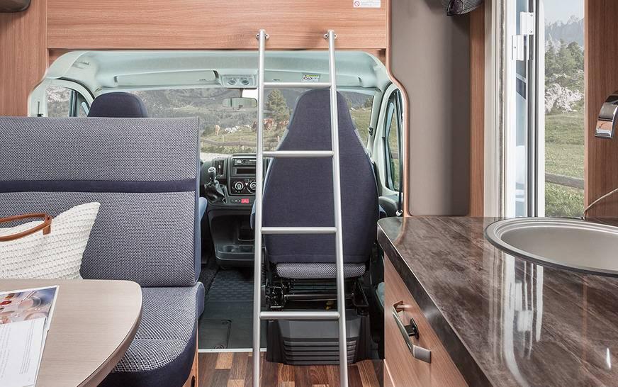 Knaus Sport Traveller TR 500 D - Interior