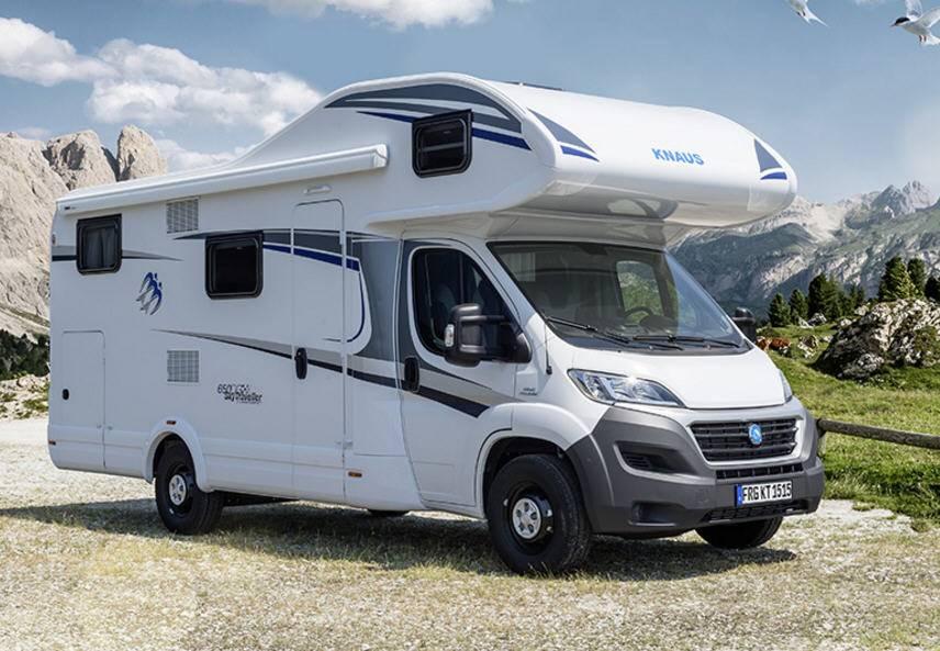 Knaus Sport Traveller Sky TR 600 DKG - Exterior