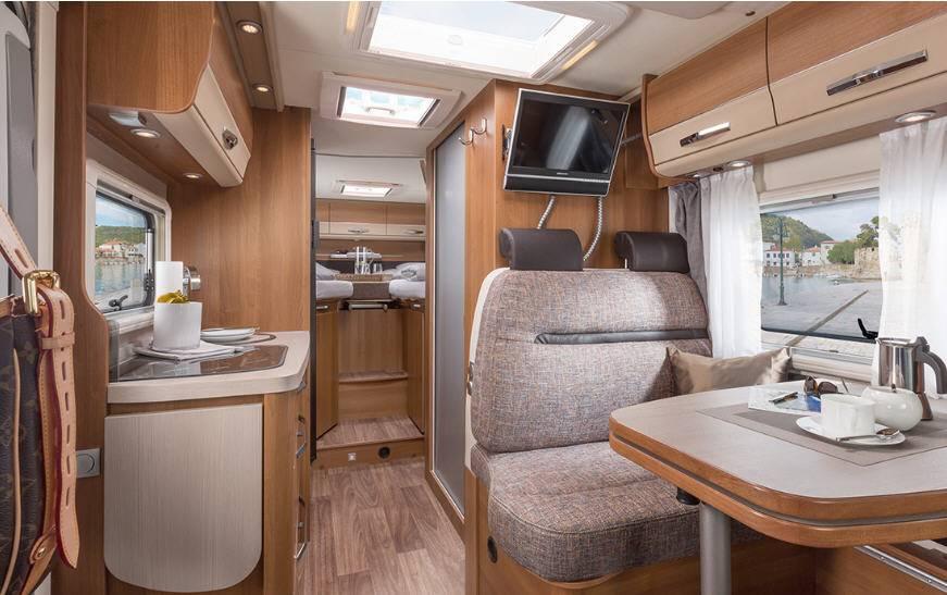 Knaus Van TI 550 MD - Interior