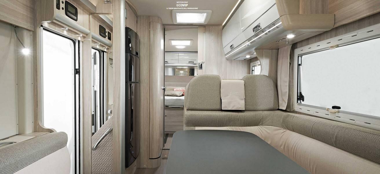 Laika ECOVIP INTEGRALES EV 690 - Interior