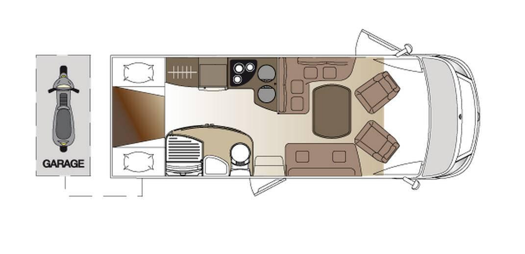 Laika ECOVIP INTEGRALES EV 691 - Plano - Distribución