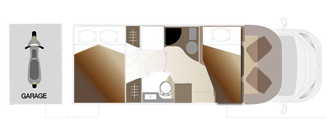 Laika KREOS PERFILADOS 5012 - Plano - Distribución