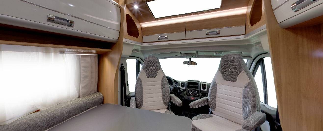 Laika Ecovip EV312 - Interior