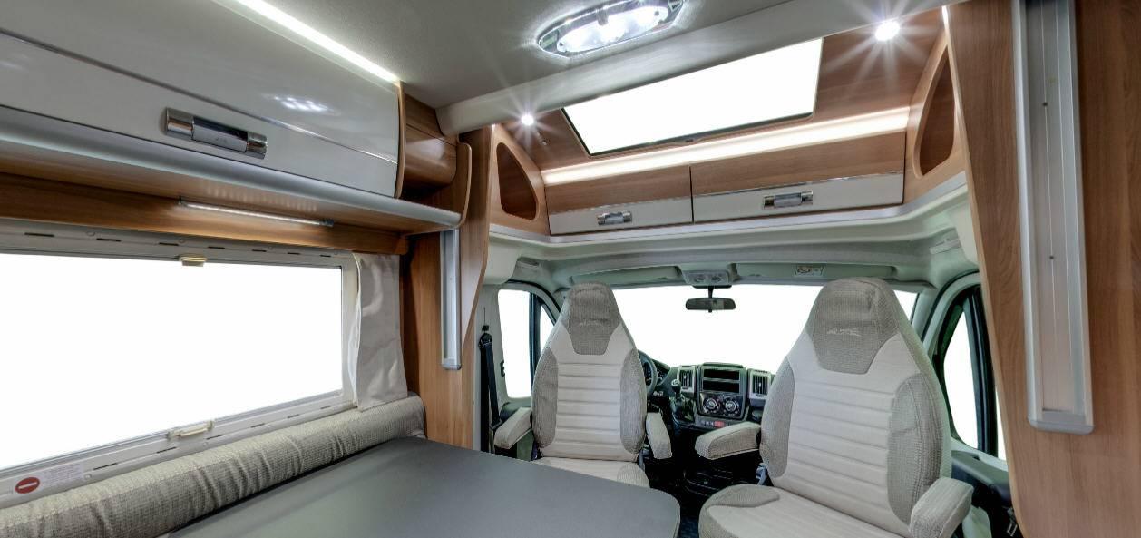 Laika Ecovip EV390 - Interior