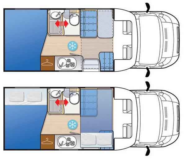 Mclouis Mc2 54G - Plano - Distribución