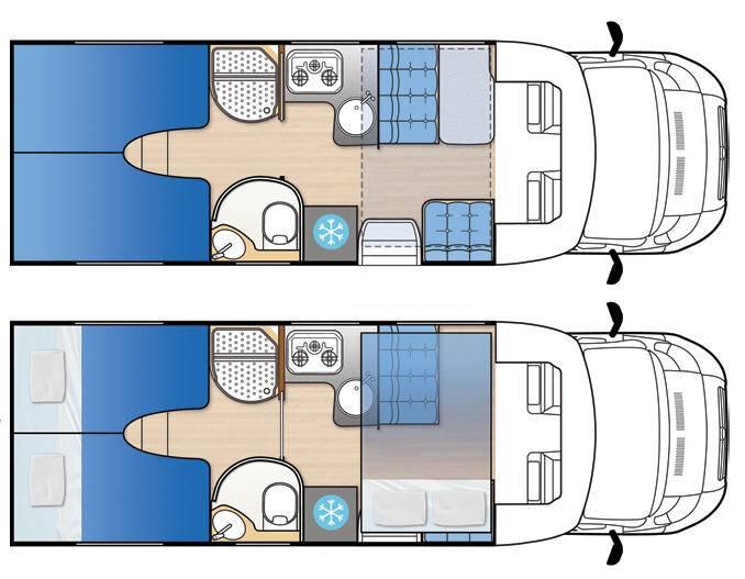 Mclouis Mc2 73G - Plano - Distribución