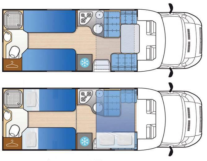 Mclouis Mc4 75G - Plano - Distribución