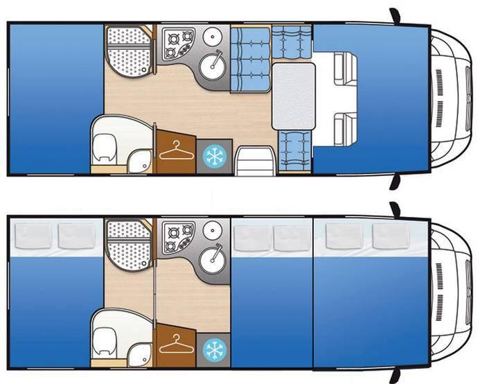 Mclouis Tandy 636G - Plano - Distribución