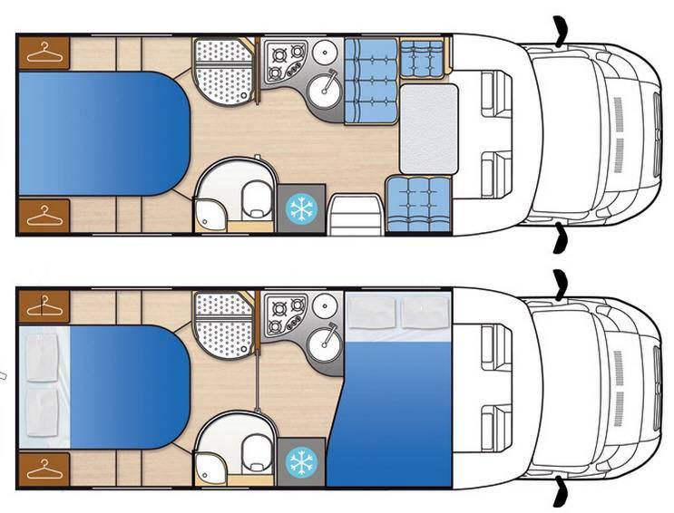Mclouis Tandy 676G - Plano - Distribución