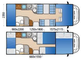 Mclouis Tandy 642 - Plano - Distribución