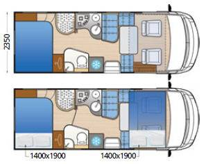 Mclouis Nevis 860 - Plano - Distribución