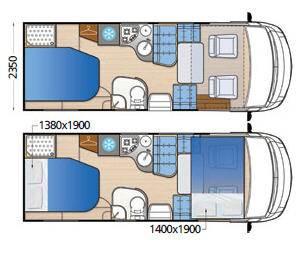 Mclouis Nevis 869 - Plano - Distribución