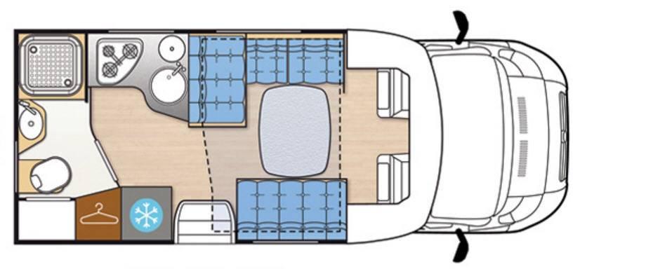 Mclouis Mc4 32 - Plano - Distribución