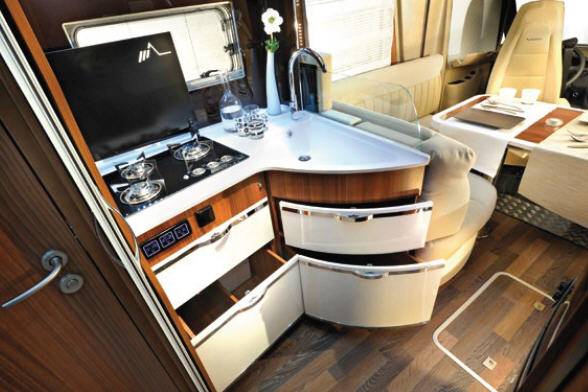 Mobilvetta S-Yacht MH103 - Interior