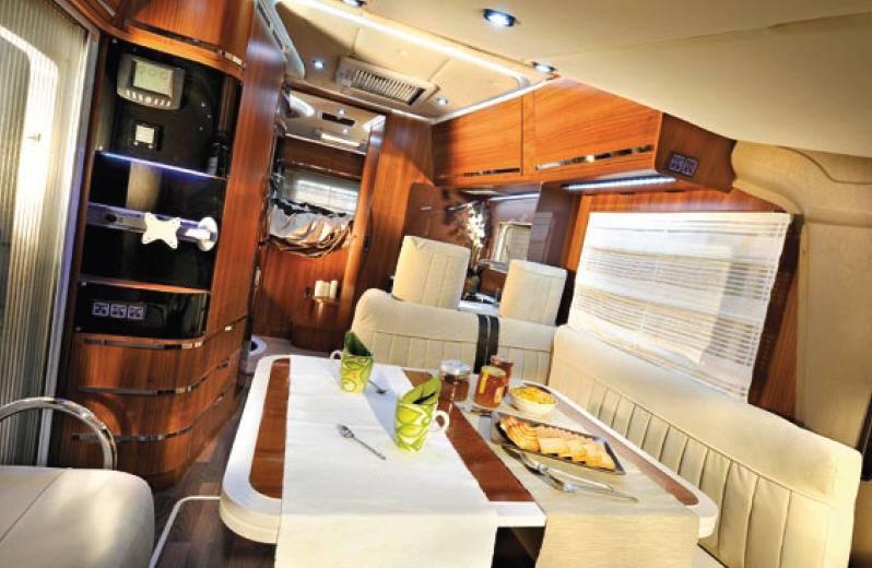 Mobilvetta S-Yacht MH107 - Interior