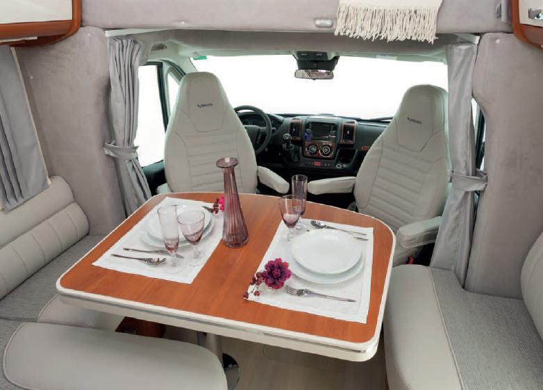 Mobilvetta KEA KEA M74 - Interior