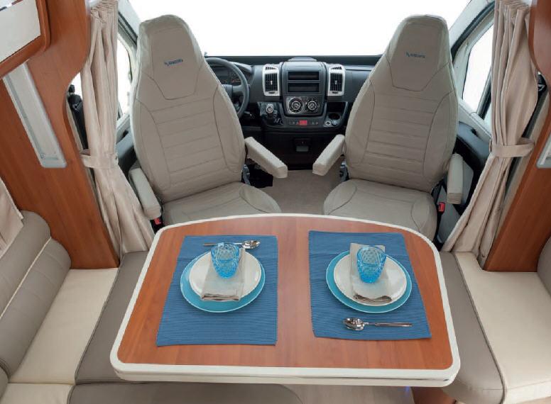 Mobilvetta KEA KEA P67 - Interior