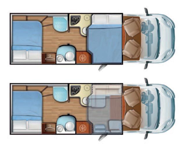 Mobilvetta KEA KEA P67 - Plano - Distribución