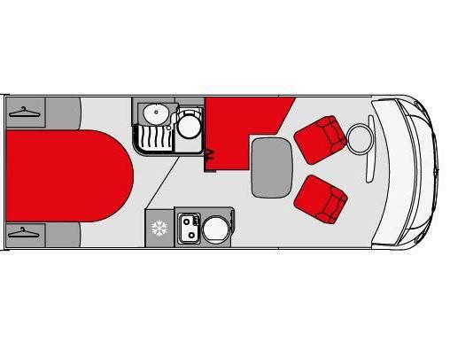 Pilote Galaxy G650C Essentiel - Plano - Distribución