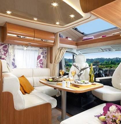 Rapido Serie 6 691 FF Design Edition - Interior